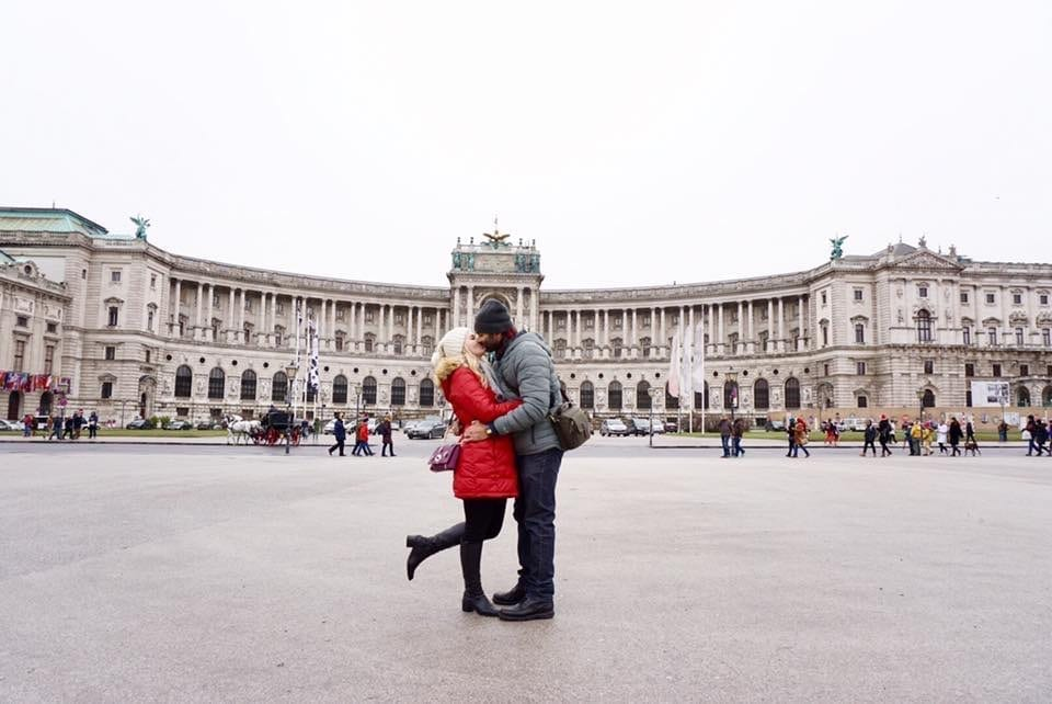 Shirish & Olya in Vienna
