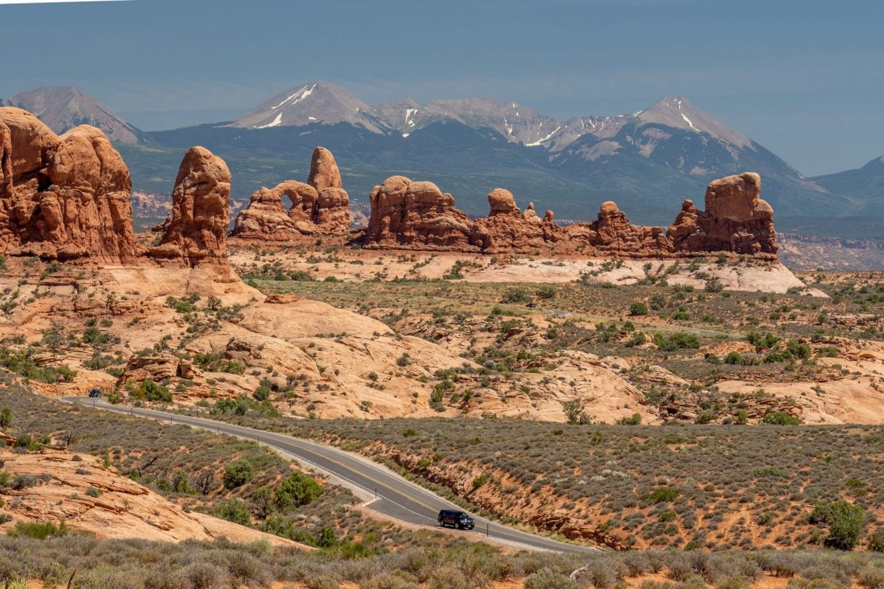 Arches National Park Overlook