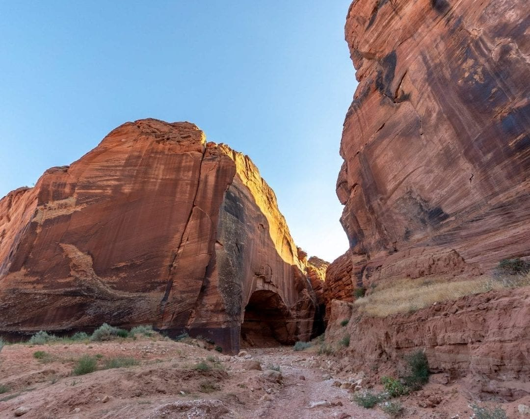 Intersection of Wire Pass and Buckskin Gulch