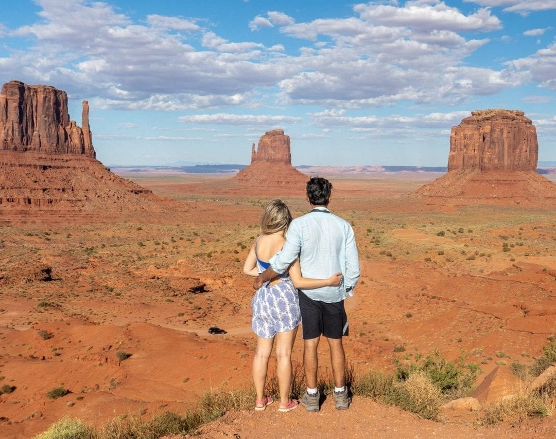 Monument Valley from visitor center
