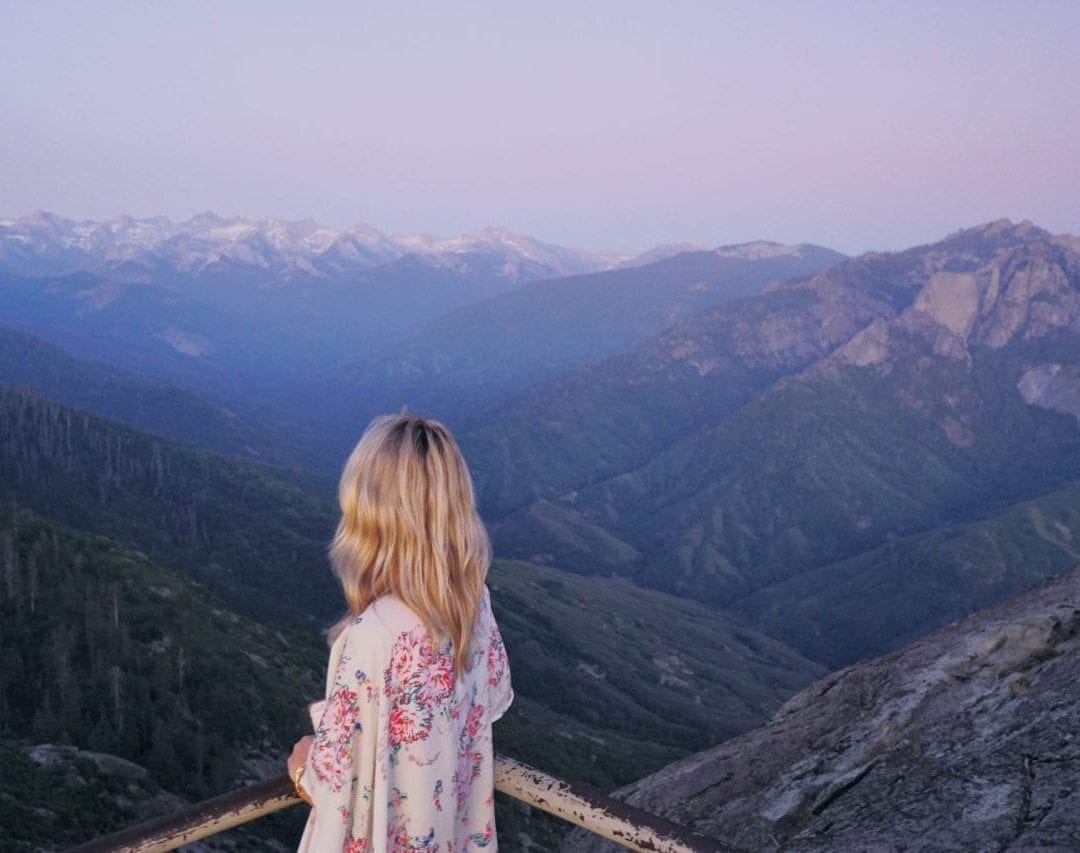 View from Moro Rock in Kings Canyon