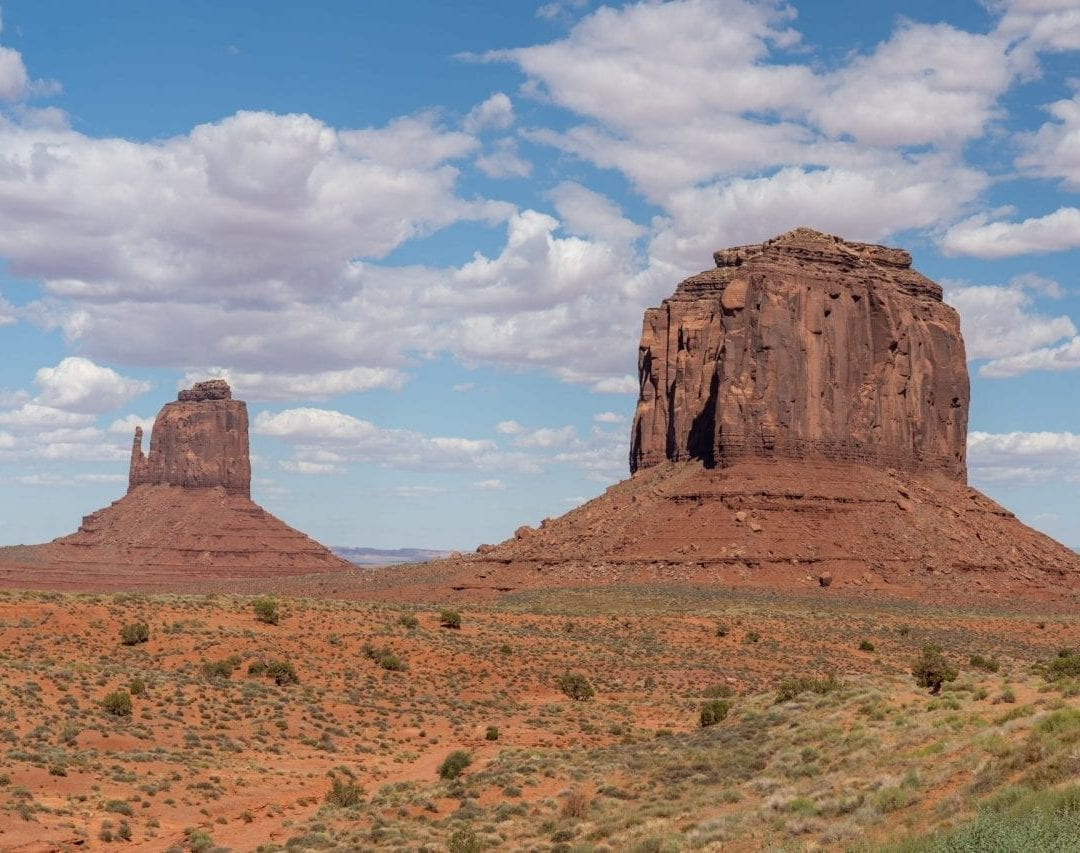 Merrick Butte in Monument Valley