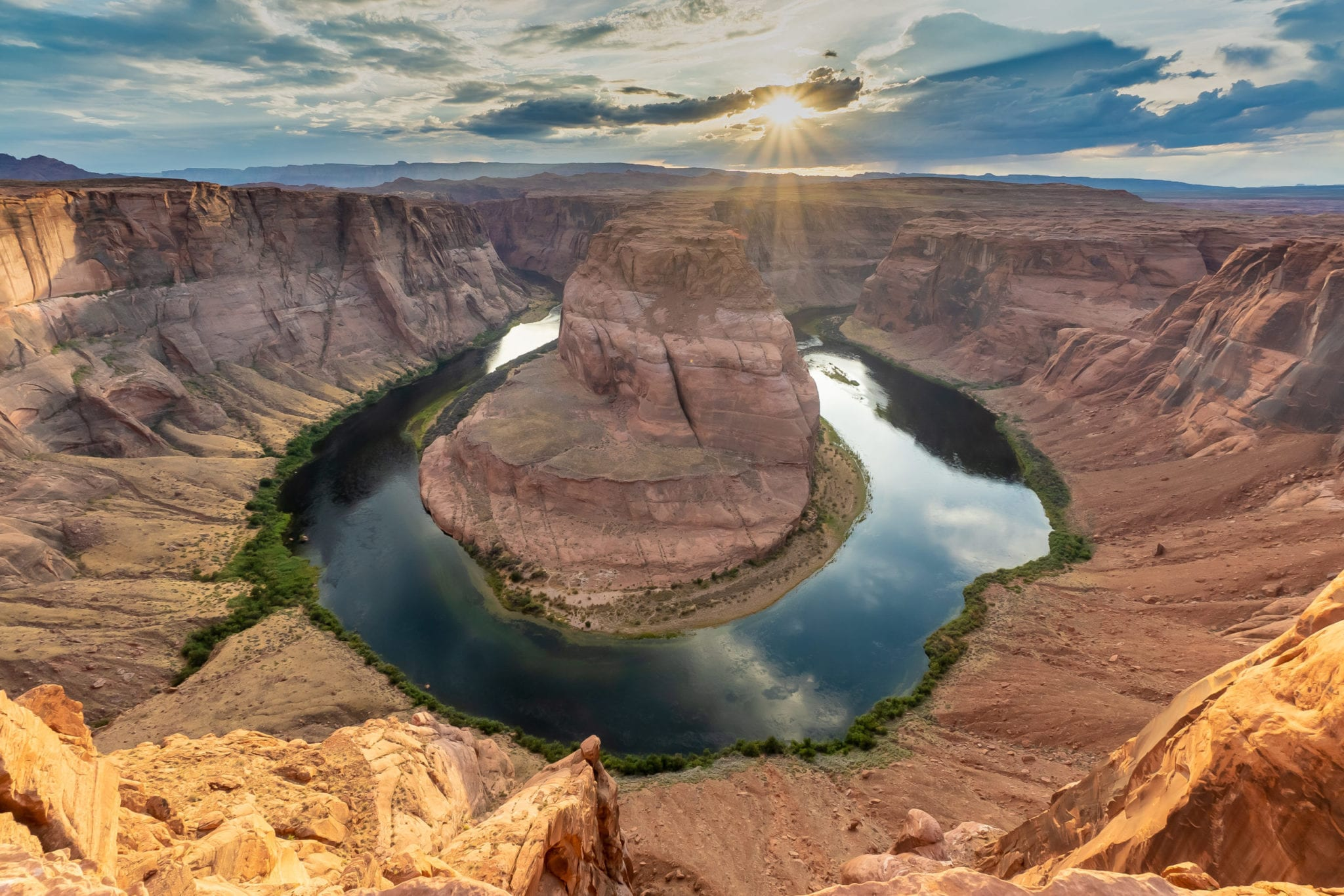 Horseshoe Bend Hike, Glen Canyon