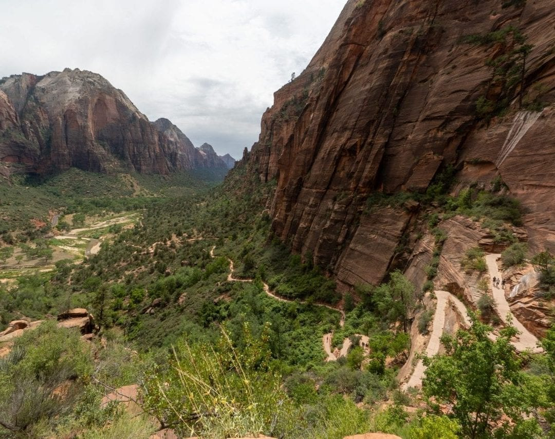 Angels Landing Trail Incline, Zion National Park