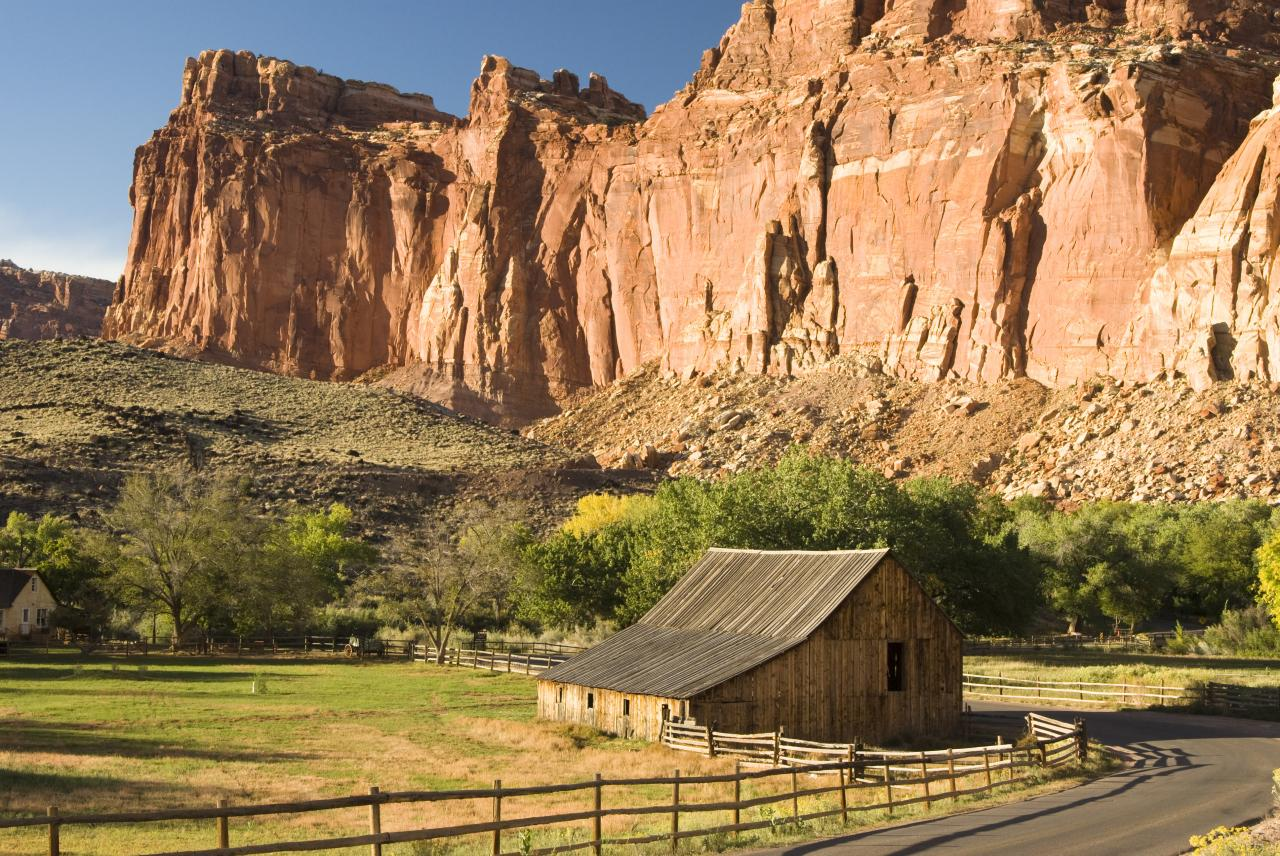capitol reef national park road trip