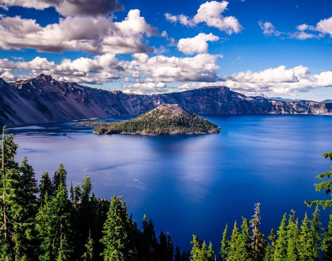 Crater Lake national park road trip