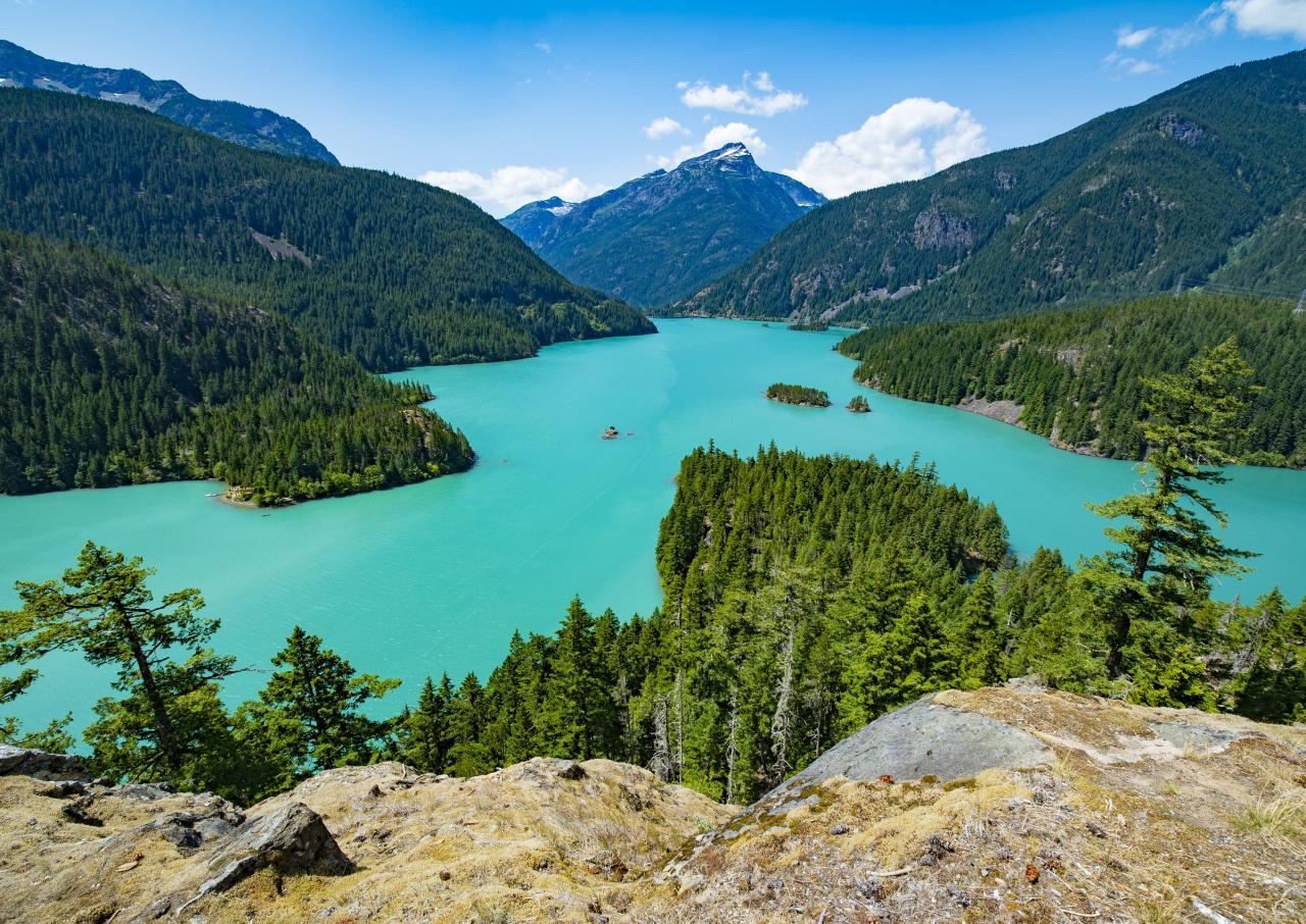 north cascades national park road trip