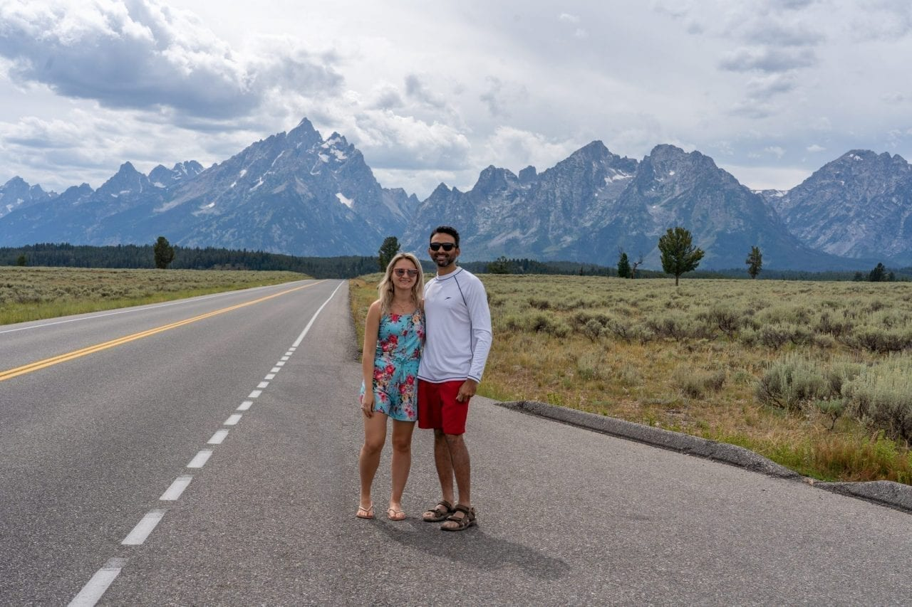 Teton Park Road Viewpoint