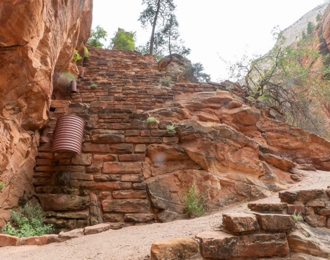 Walters Wiggles, Angels Landing, Zion National Park
