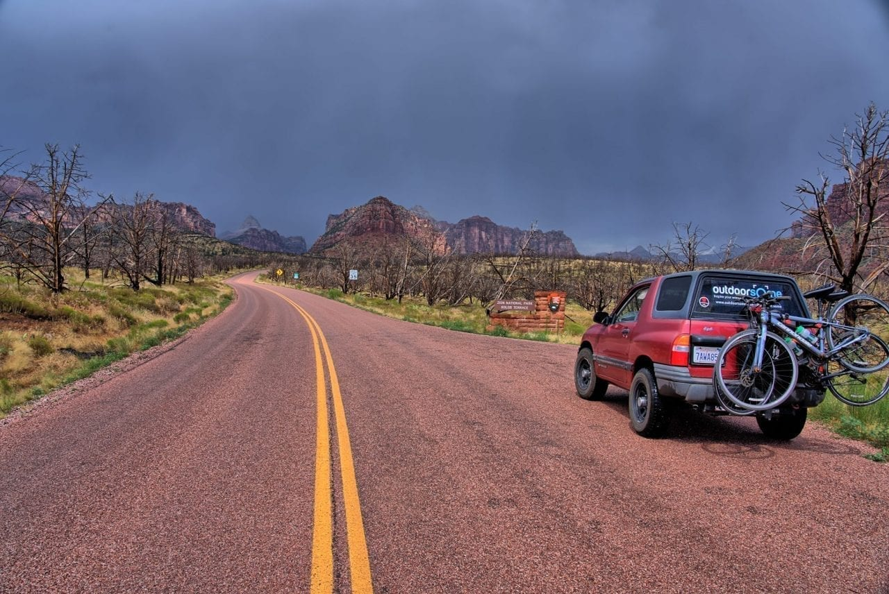 Bryce to Zion National Park