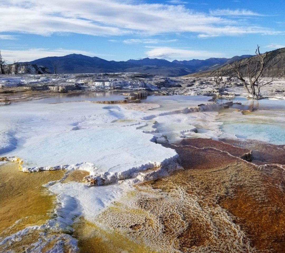 Colorful Mammoth Hot Springs