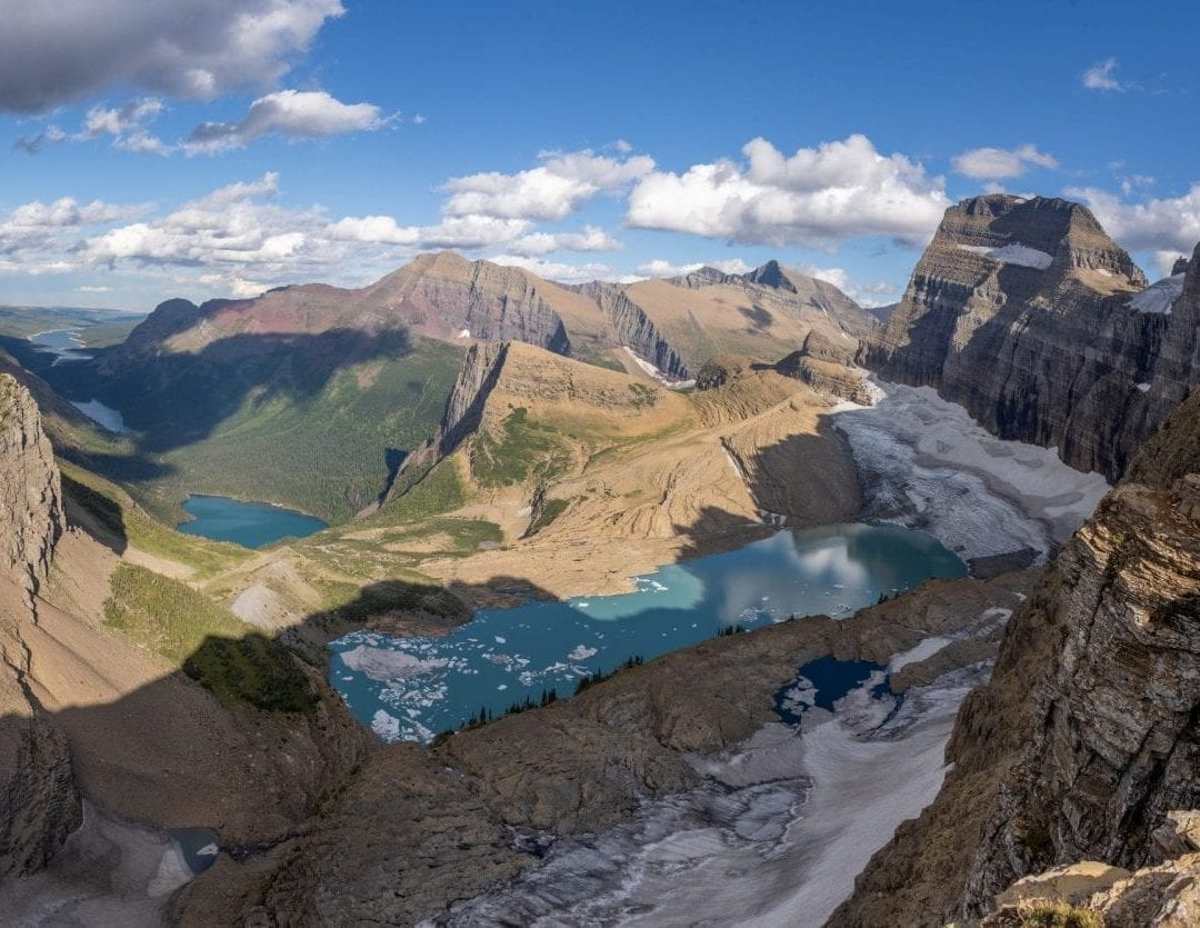 Grinnel Glacier Overlook Panorama