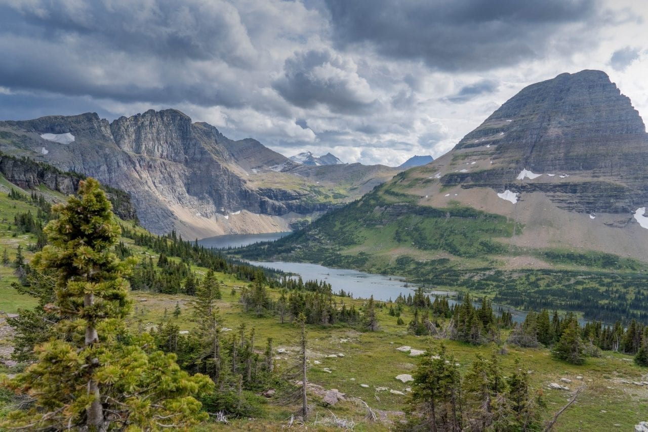 Hidden Lake Overlook, Going to the Sun Road, Glacier National Park