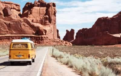 19 National Parks. 10000+ miles. One mega road trip itinerary