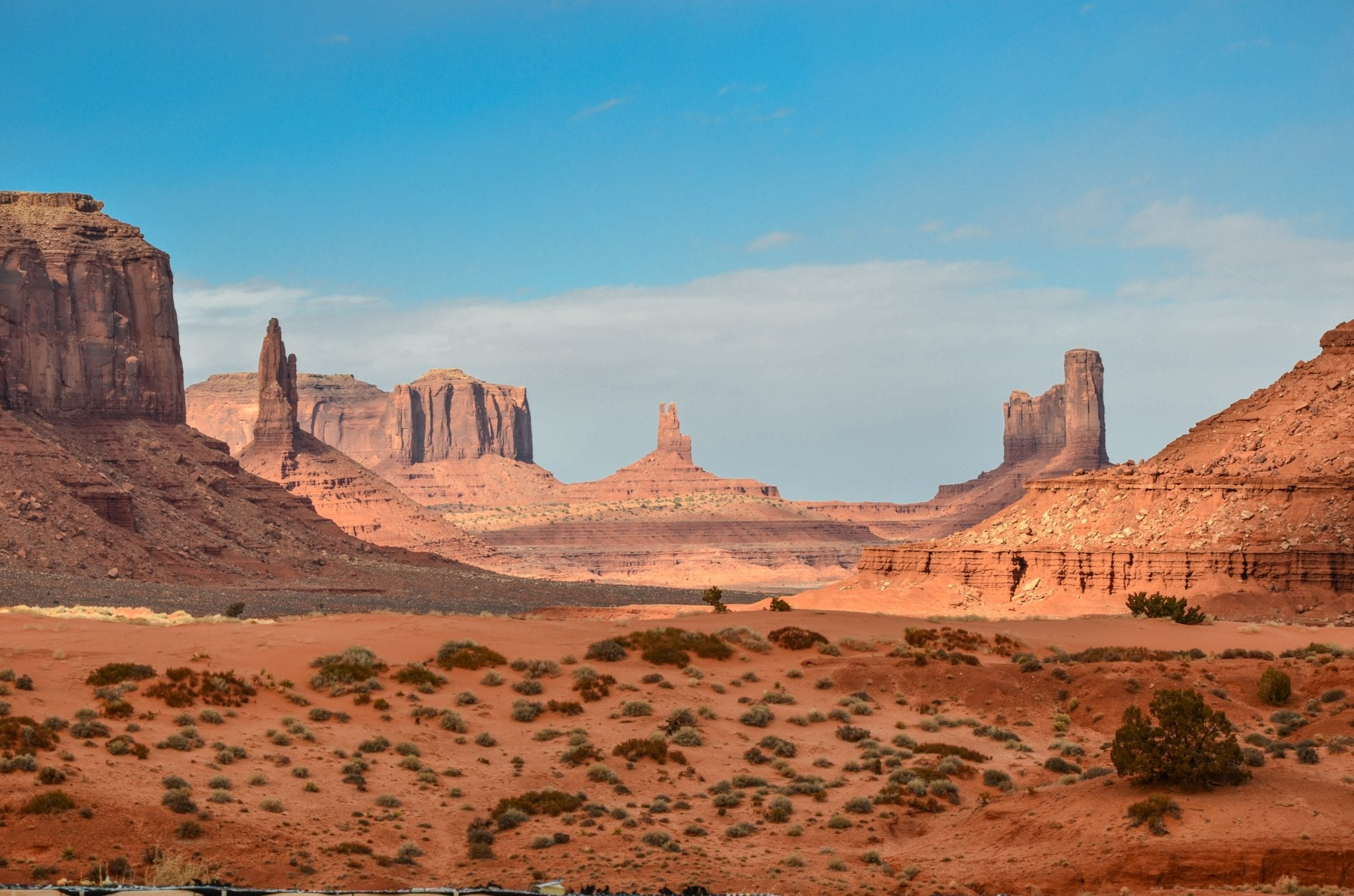 monument valley rock formations cover