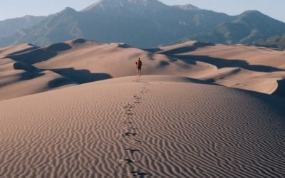 Death Valley Sand Dunes, Like Being in the African Sahara! (GALLERY)