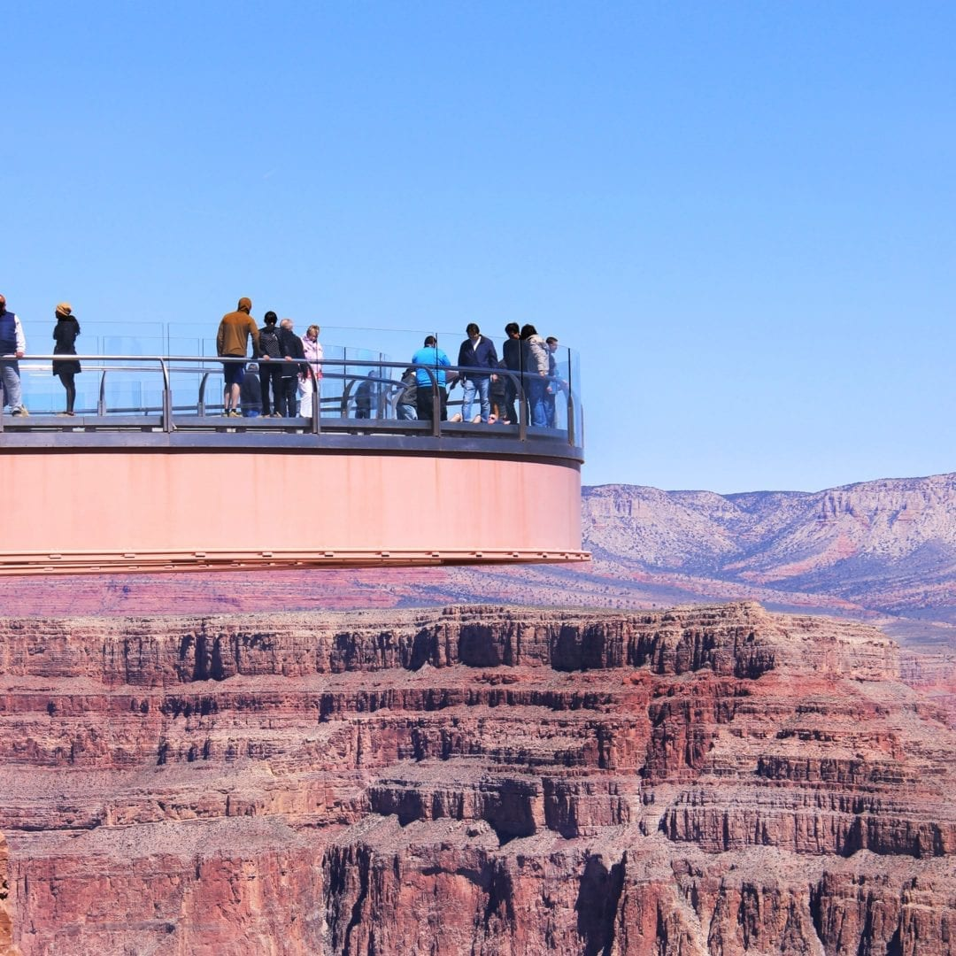 Skywalk in West Rim of Grand Canyon
